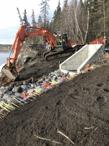 Outfall restoration project