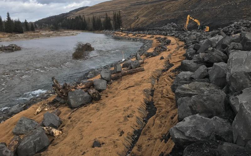 Teck coal stabilization project