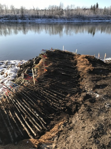 Outfall rehabilitation project, Edmonton AB